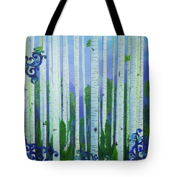 Aspens In Summer Tote Bag