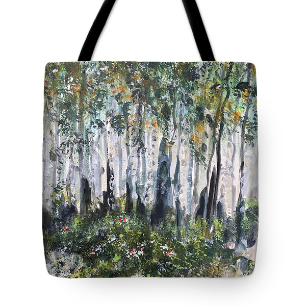 Aspenwood Tote Bag