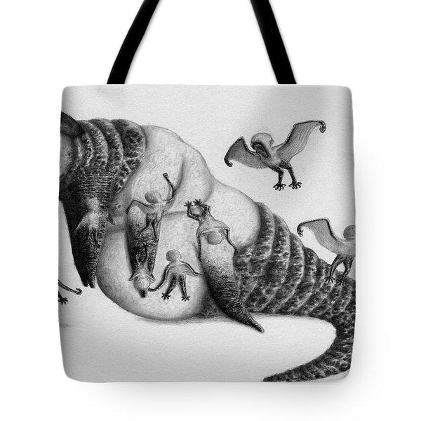 Astrid The Nightmare Nurturer - Artwork Tote Bag