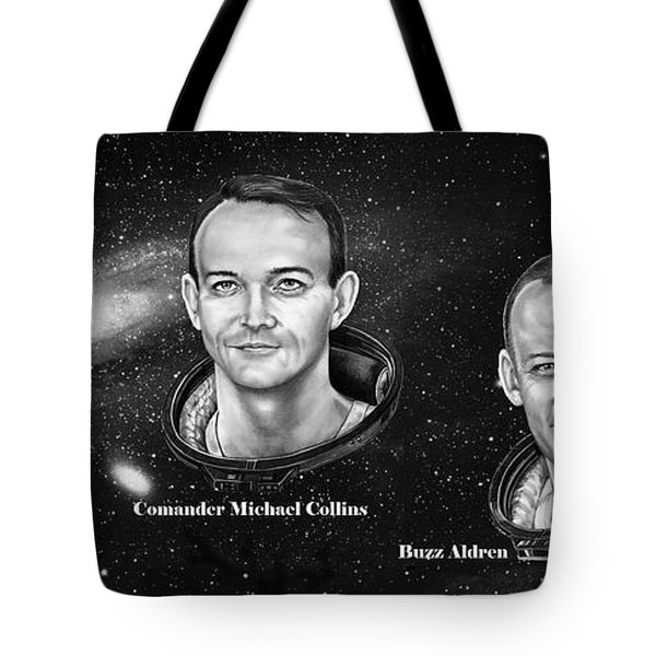 Astronauts Three Tote Bag