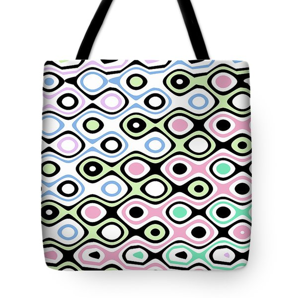 Asymmetry Collection Contrasts Tote Bag