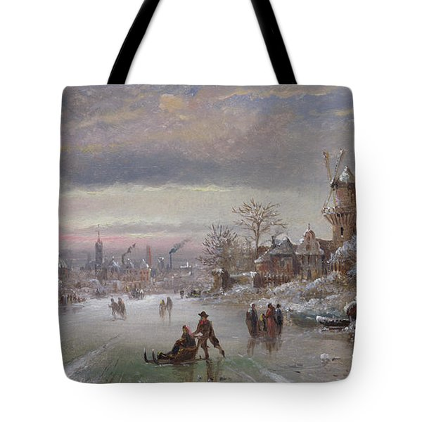 At The Close Of Day, 1898 Tote Bag