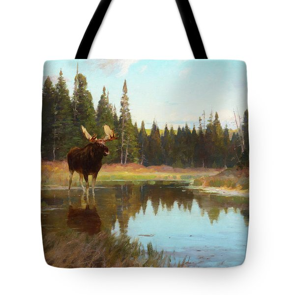 At The Deadwater, 1908 Tote Bag