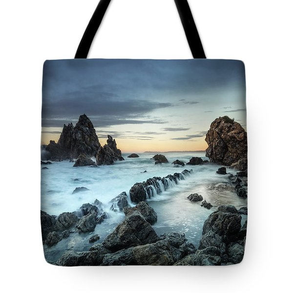 At The Edge Of Light Tote Bag