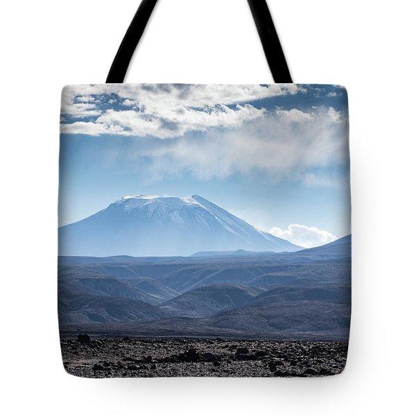 Atacama Volcano Tote Bag