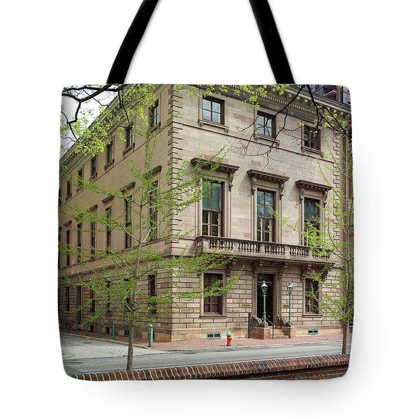 Athenaeum Exterior Tote Bag