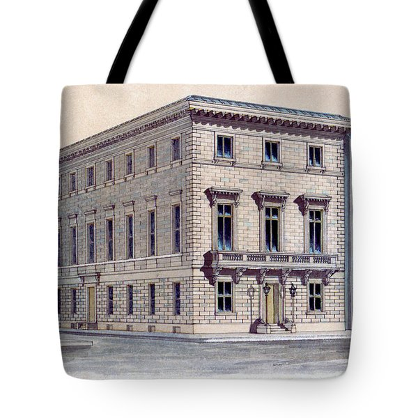 Athenaeum Perspective Tote Bag