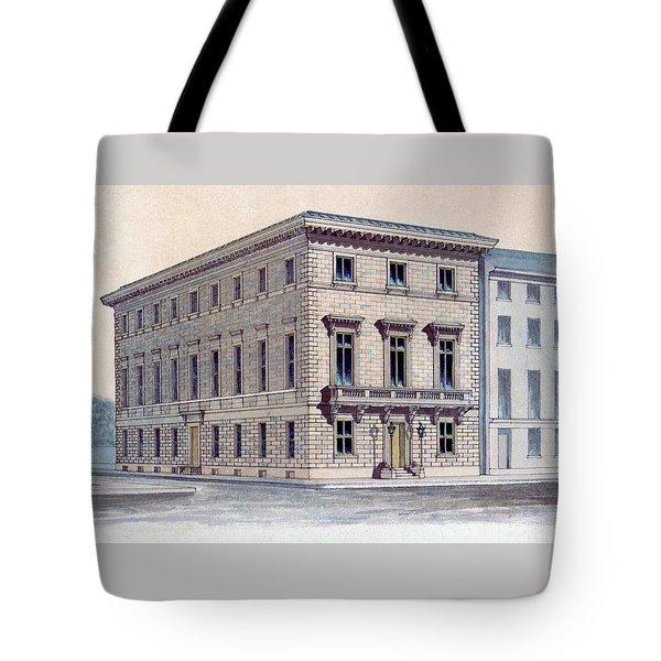 Athenaeum Perspective Tote Bag