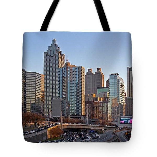 Atlanta - Downtown View Tote Bag