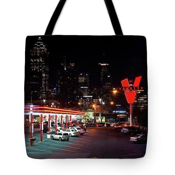 Atlanta, Georgia - The Varsity Drive-in Tote Bag