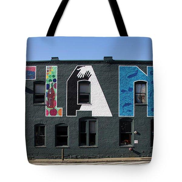 Atlanta, Georgia - Urban Art Tote Bag