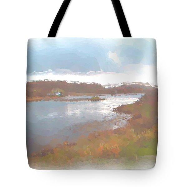 Atlantic View Tote Bag