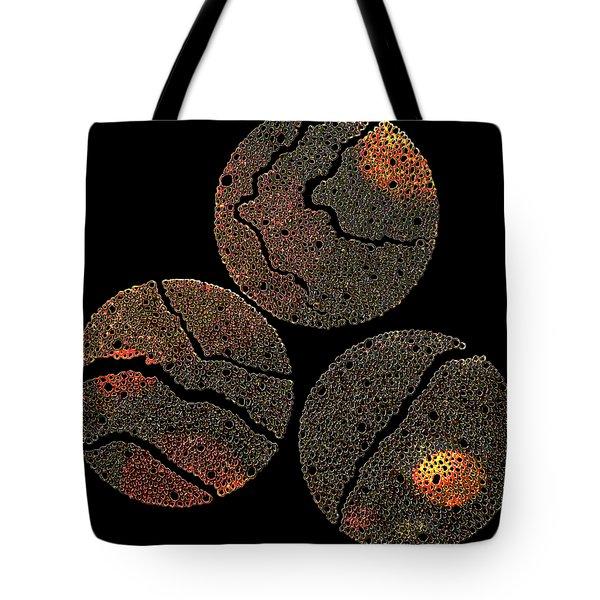 Atoms Ink Artwork Tote Bag