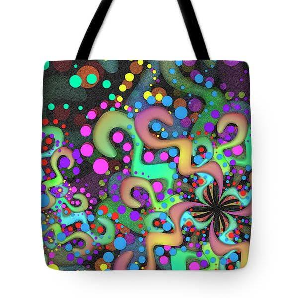 Tote Bag featuring the digital art Attire by Vitaly Mishurovsky
