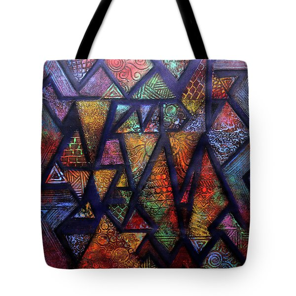 Attractive Mosaic  Tote Bag