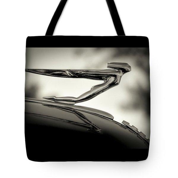 1936 Auburn 851 Sc Boattail Speedsterdster Hood Ornament Tote Bag