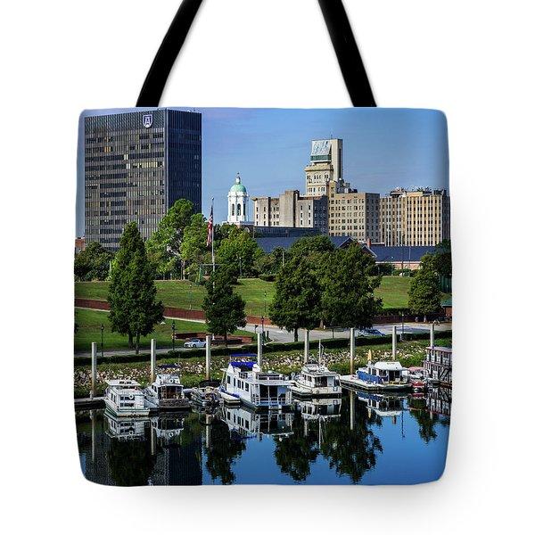 Augusta Ga Savannah River 3 Tote Bag