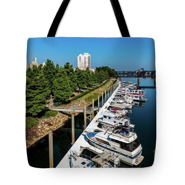 Augusta Ga - Savannah River Tote Bag