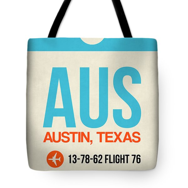 Aus Austin Luggage Tag I Tote Bag