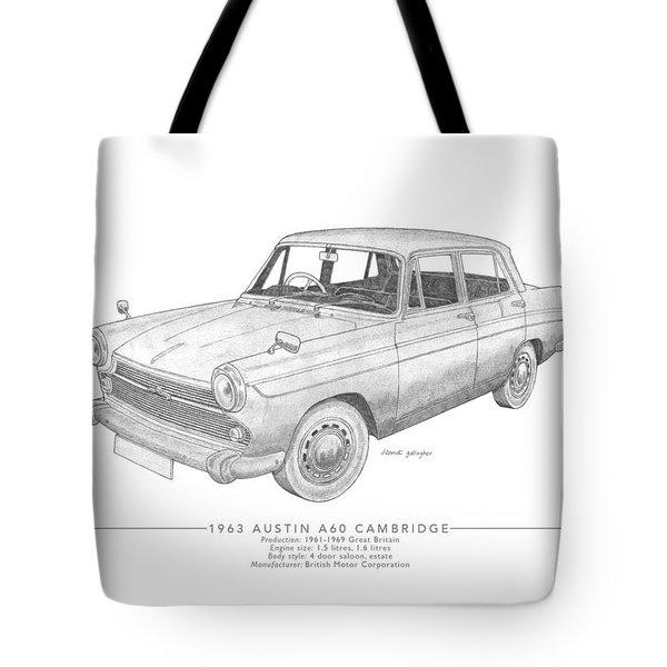 Austin A60 Cambridge Saloon Tote Bag