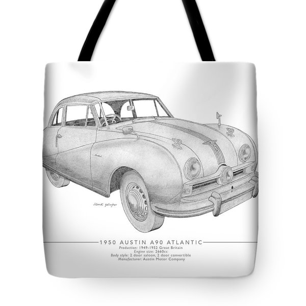Austin A90 Atlantic Saloon Tote Bag