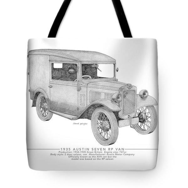 Austin Seven Rp Van Tote Bag