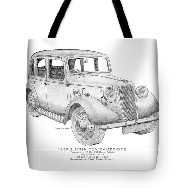 Austin Ten Cambridge Saloon Tote Bag