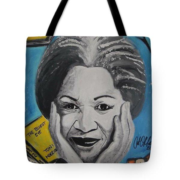 Author Toni Tote Bag