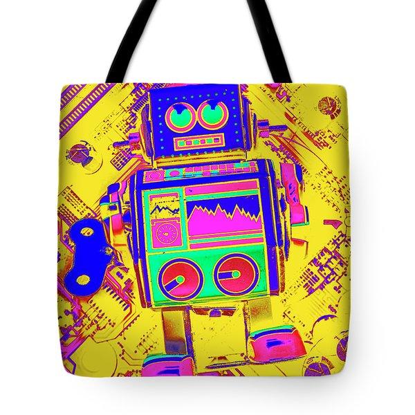 Automated Nostalgia Tote Bag