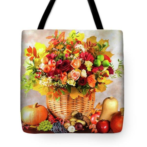 Autum Harvest Tote Bag