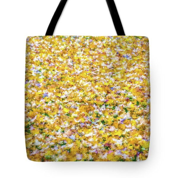 Tote Bag featuring the photograph Autumn Abstract  by David Letts