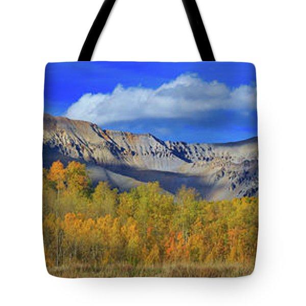 Autumn Afternoon Below The Sneffels Range Tote Bag