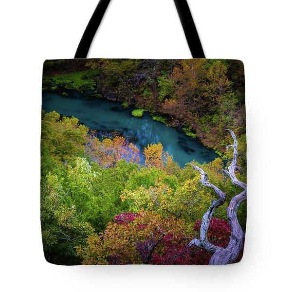 Autumn At Ha Ha Tonka State Park Tote Bag