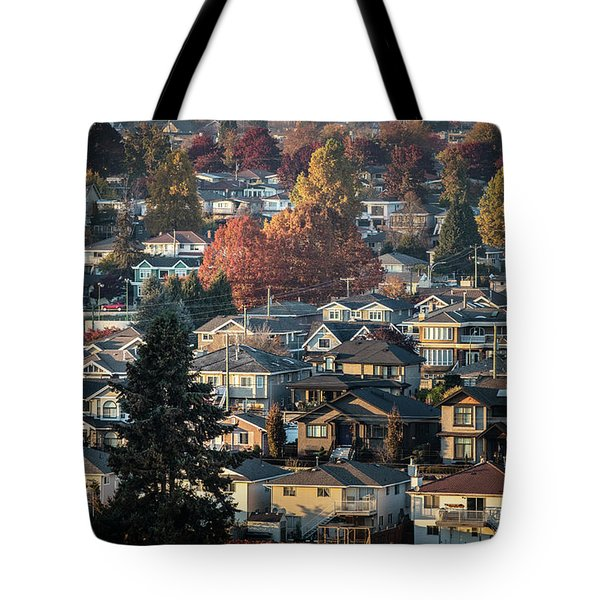 Autumn At Home Tote Bag