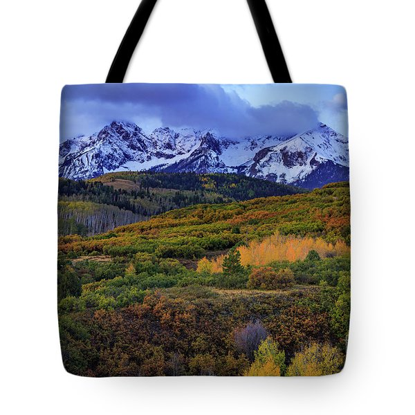Autumn At The Dallas Divide Tote Bag