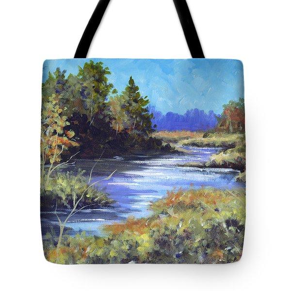 Autumn Brook Skech Tote Bag