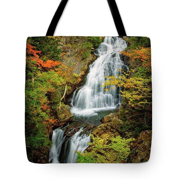 Autumn Falls, Crystal Cascade Tote Bag