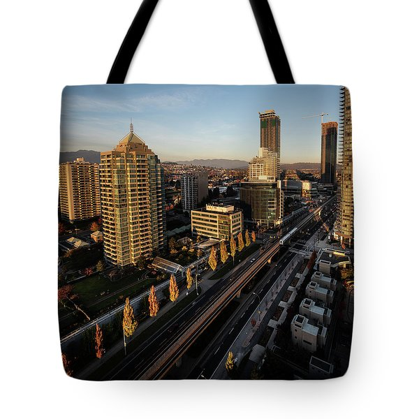 Autumn In Burnaby Tote Bag
