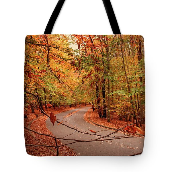 Autumn In Holmdel Park Tote Bag