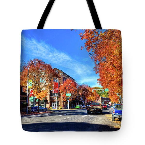 Tote Bag featuring the photograph Autumn In Pullman by David Patterson