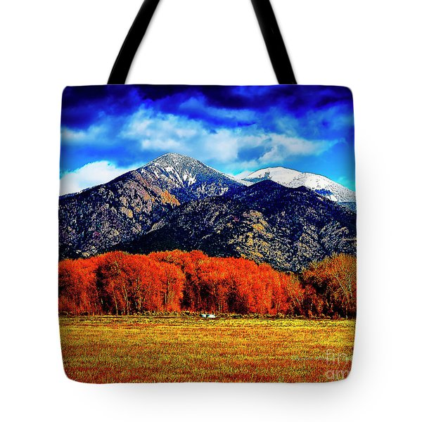 Autumn In Taos New Mexico Tote Bag