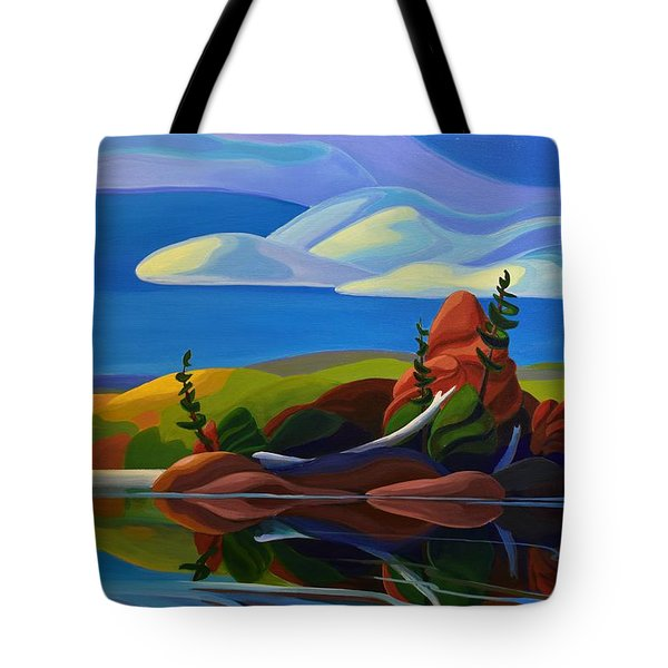 Autumn Island Tote Bag