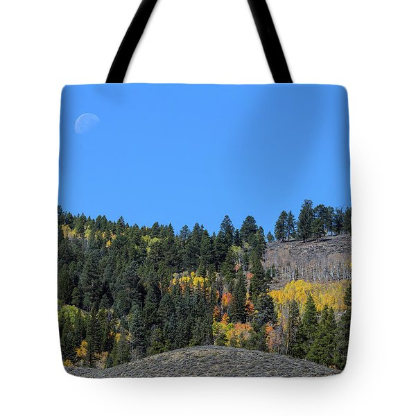 Tote Bag featuring the photograph Autumn Moon by James BO Insogna