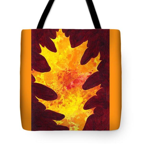 Autumn Oak 3 Tote Bag