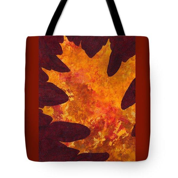 Autumn Oak 6 Tote Bag