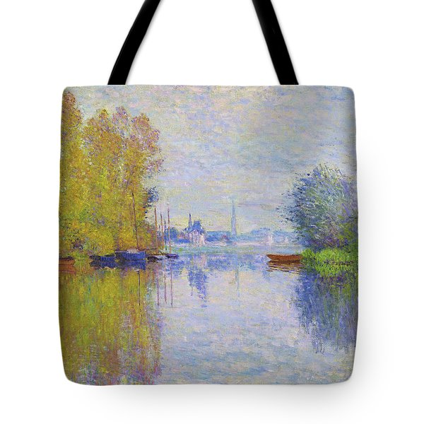 Autumn On The Seine, Argenteuil - Digital Remastered Edition Tote Bag