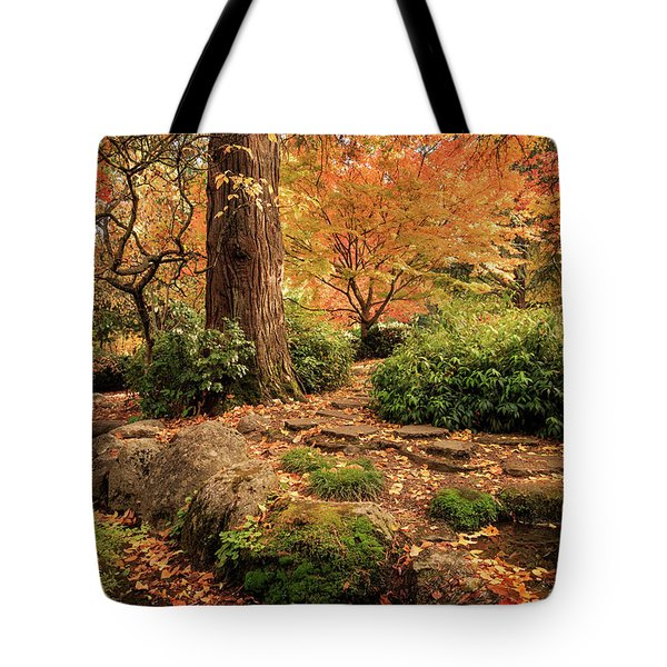 Autumn Stream In Lithia Park Tote Bag