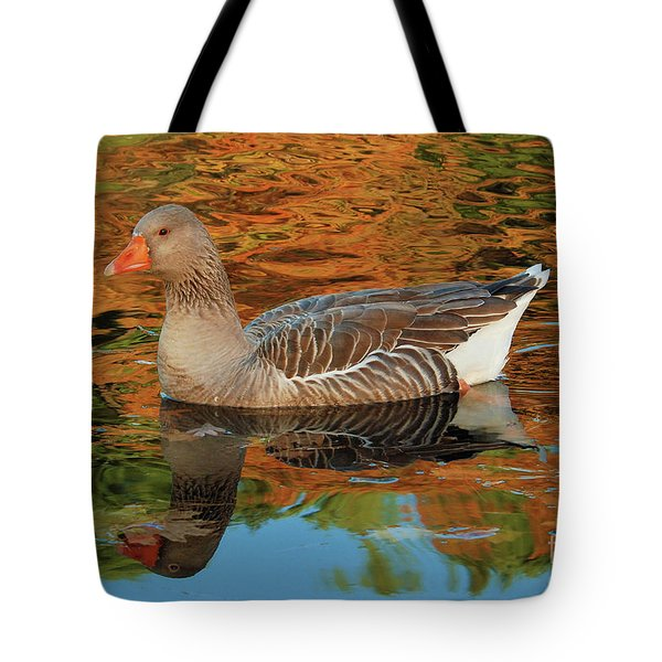 Autumn Swim Tote Bag