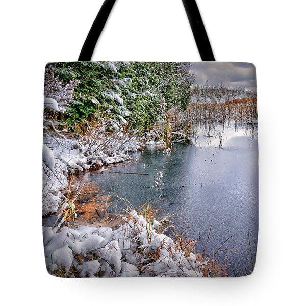 Autumn To Winter Tote Bag