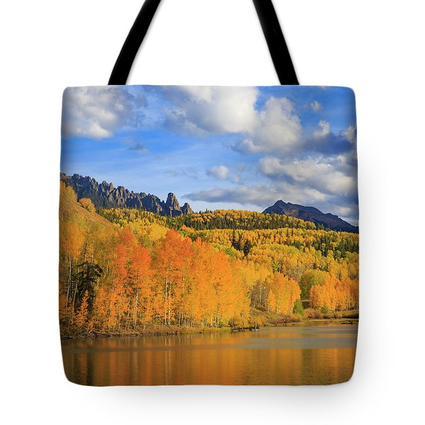 Autumn Tranquility Tote Bag